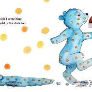 I Wish I Were Blue- pg 6 & 7
