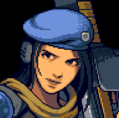 """Sarah Ridely, the playable female marine from the game """"Xeno Crisis"""""""